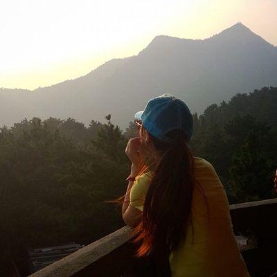 南岳衡山 我的老妈已经被我培训成一名优秀的摄影师了 😁😁祖国的秀丽山河每一处角落都美不胜收😝