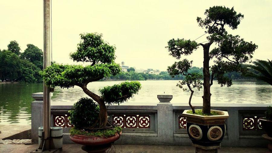 Vietnam Hanoi Lake Waterscape