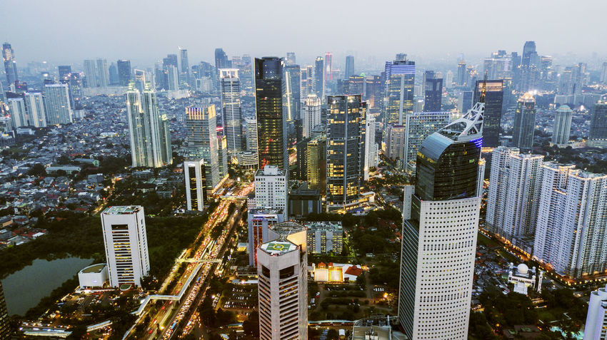 Jakarta Apartment Architecture Building Building Exterior Built Structure City City Life Cityscape Crowd Crowded Financial District  High Angle View Landscape Modern Office Office Building Exterior Outdoors Residential District Sky Skyscraper Tall - High Tower Urban Skyline