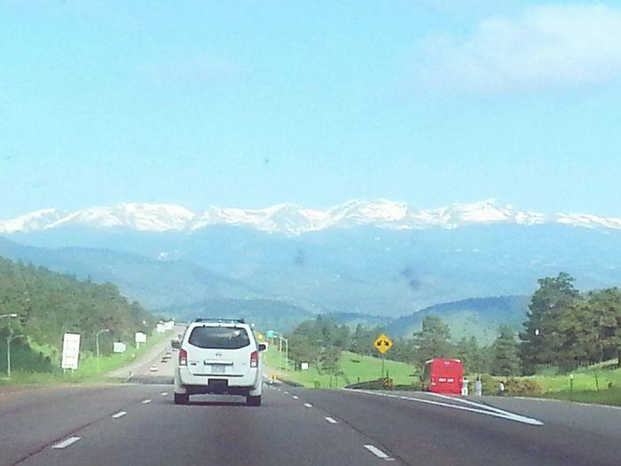 Showcase: January I-70 West of Denver, heading towards the Colorado Rockies