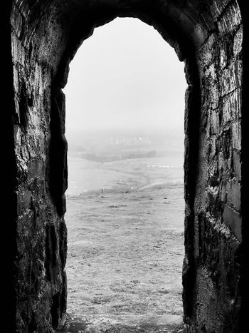 Looking through to the moor