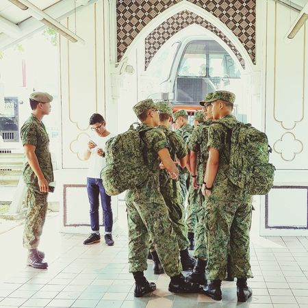 Going Into Camp NSmen Sg_streetphotography Streetphotography Singapore