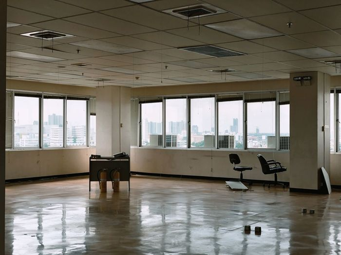 View of an empty room