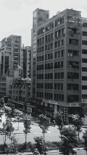 Blackandwhite Buildings & Sky Taking Photos