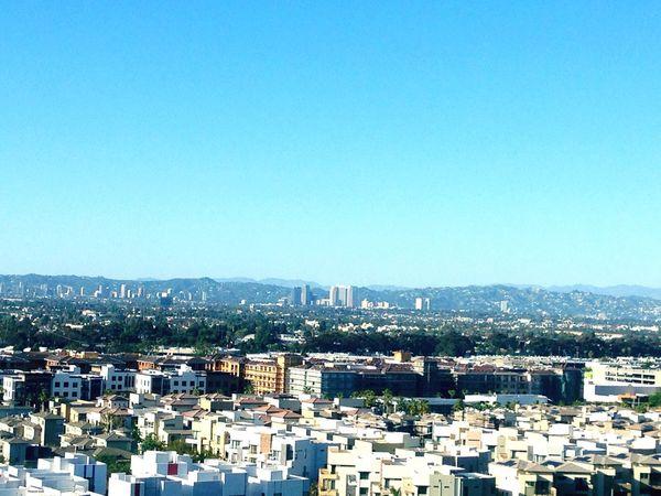 Beautiful view of DTLA California Los Ángeles City