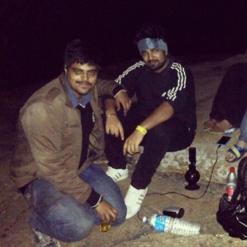 Hilltop GhostHill RollingHigh Bangalore 3am Trekk