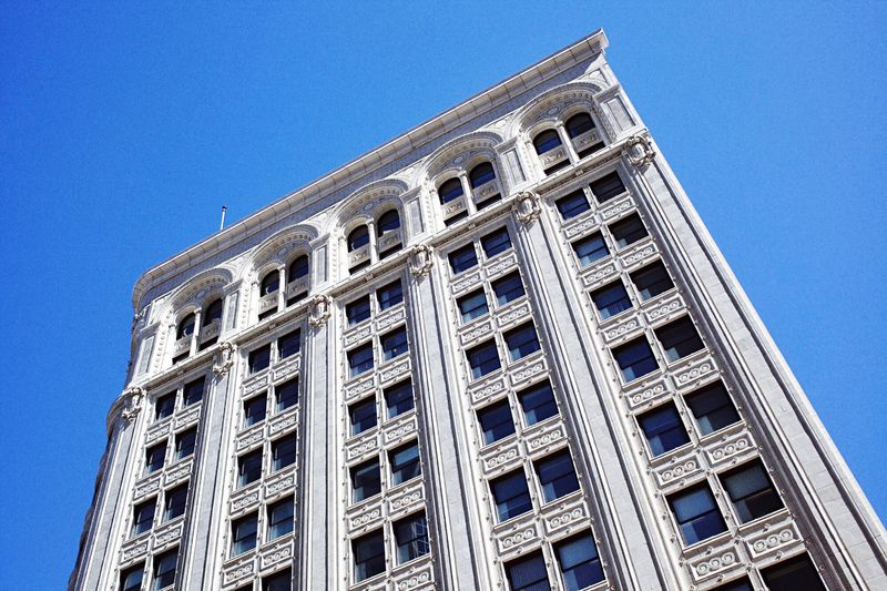 Heritage building. Lookingup Architectural Detail Architecture_collection Architecturelovers Blue Sky Downtown Edificio Batiments