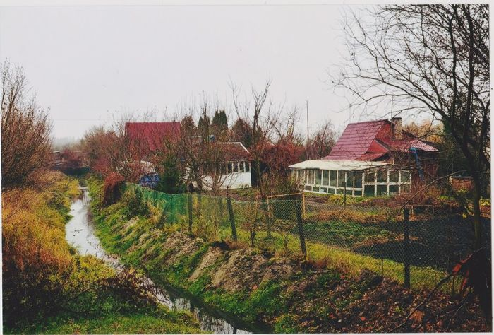 #autumn #building #clouds  #fall #grass #Hajnówka #Nature  #Poland Day First Eyeem Photo