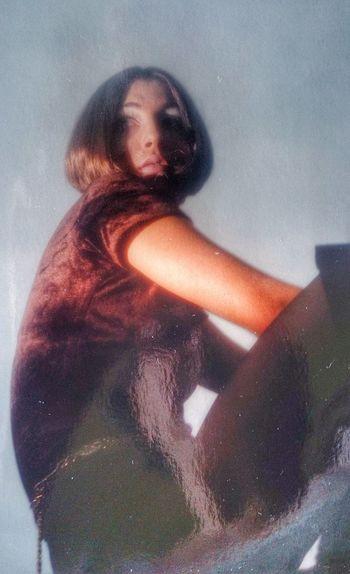 Erica, vintage '60 '70 con abiti originali,acquisiti da stampa, riveduti e corretti con Sony Xperia My Analogic Portfolioi