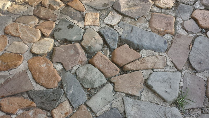 Backgrounds Close-up Detail Natural Path Stone Stones Textured