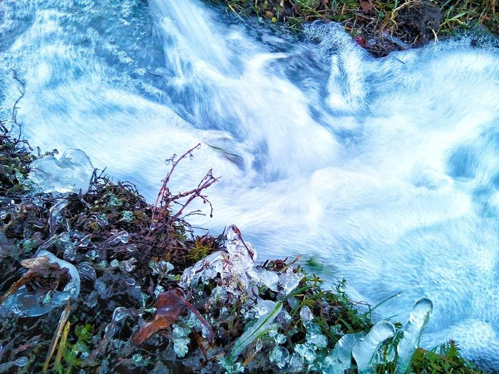 Весна Nature Water Beauty In Nature Growth No People Tree Outdoors Plant Scenics Day Waterfall Tranquility Forest Motion Freshness Close-up Sky First Eyeem Photo