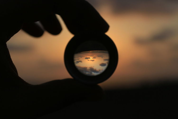 Perspective defines the artist. Sunset Sky Mumbai Beach EyeEm Selects Close-up The Creative - 2018 EyeEm Awards