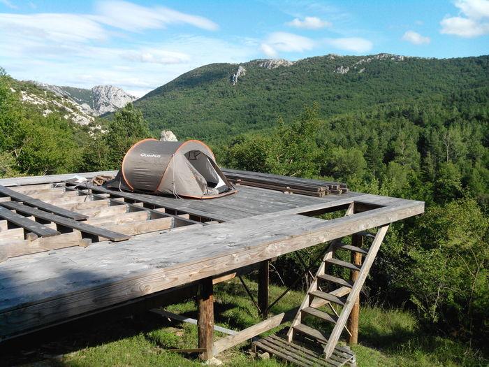À Camps sur l'Agly Paysage Montagne Mountains Landscape