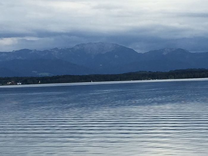 Starnberger See Lake Mountains Alps Alpen Original Photography Not Edited