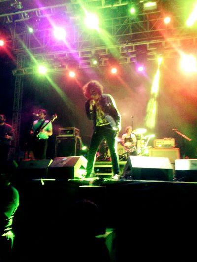 Luis Navejas, vocalista de Enjambre, en Campeche!