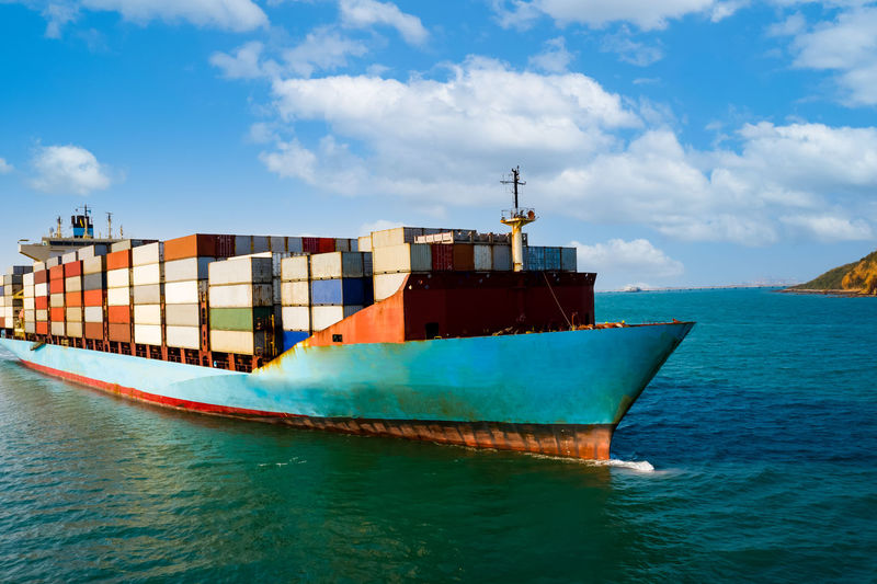 Shipping cargo containers businesses services import and export international transportation
