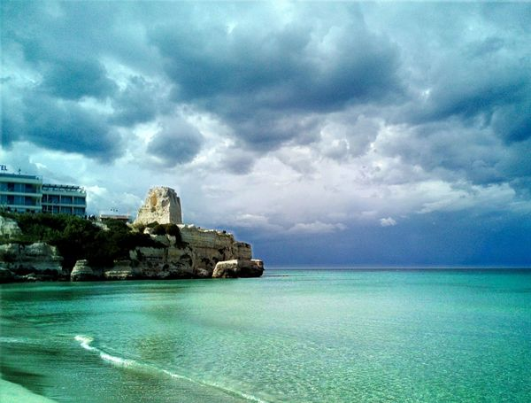 Beauty In Nature Cloud - Sky Cloudy Nature Scenics Sea Sea And Sky Sky Storm Clouds Stormy Weather