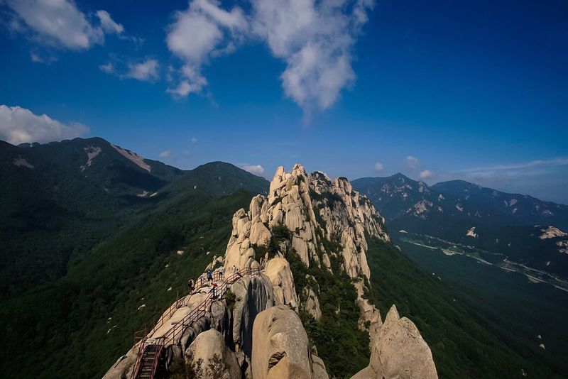 Mountain Seorak Mountain Hiking Landscape Photography Beautiful View Like4like Nature Photography Sony A6000 Beauty In Nature EyeEm Around The World EyeEm Best Edits EyeEmBestPics EyeEm Gallery South Korea Samyang 12mm F2 EyeEm Best Shots - Nature EyeEm Korea EyeEm Best Shots Mountain Peak Likeforlike Followforfollow EyeEm Masterclass Nature_collection