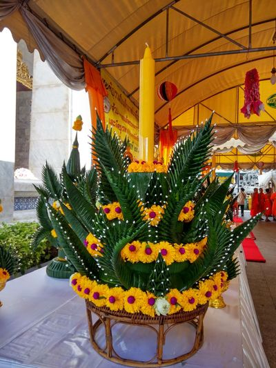 Tample, Rakang Temple Decoration Religion Celebration Spirituality Statue Indoors  Flower No People Architecture Place Of Worship Day