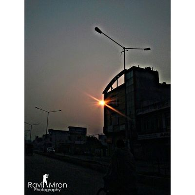 RaviMron_Photography Camera360ultimate_HDR Amar_market_ITI_YNR Hometown morning_shoot sunrise black_black_mosam going_to_school ^_^