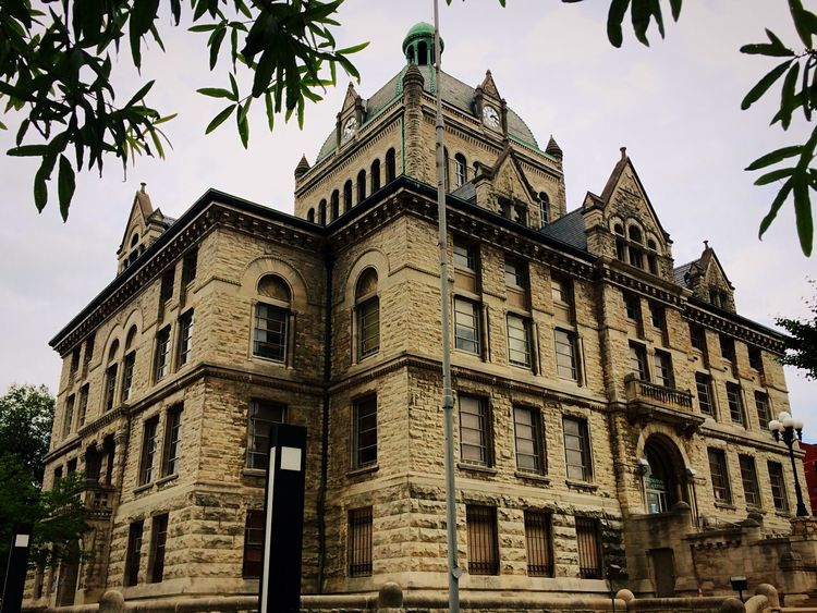 Fayette County Courthouse (eat 1898), now the Kexington-Fayette Museum if History. Lexington Kentucky  Check This Out Taking Photos The Architect - 2016 EyeEm Awards Architecture_collection Architectural Detail Architecture Iphonephotography Malephotographerofthemonth Showcase June EyeEm Best Shots No People, EyeEm Gallery Urbanexploration Urbanphotography Historical Building Dramatic Angles