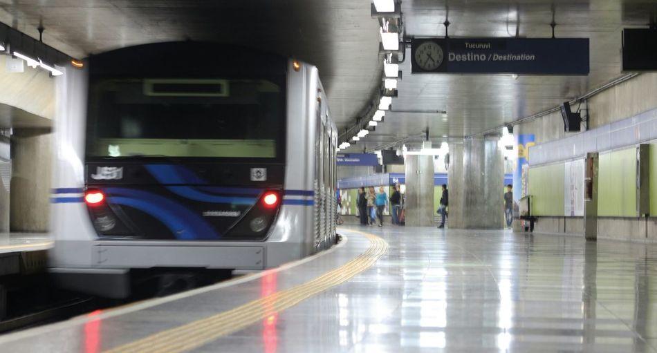 Metro Station Metrosaopaulo São Paulo - Brasil
