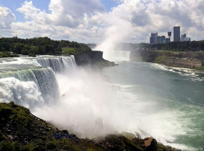 Cataratas Nature Niagara Falls NY Power In Nature Waterfall