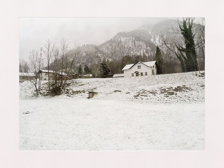 Winter Holidays Austria It's Cold Outside Charming Houses Snow ❄ On The Road Bus Ride Houses