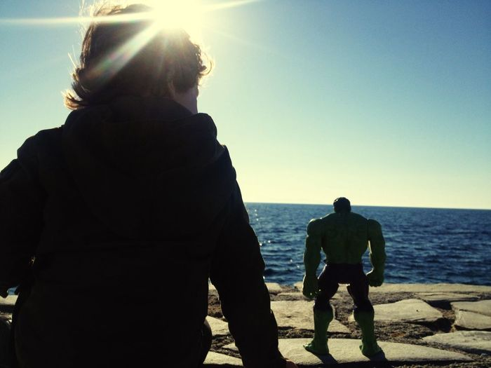 Things I Like things that his <3 Me & my Hulk