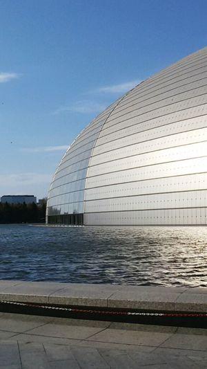 China Nationaltheatre Architecture Beijing