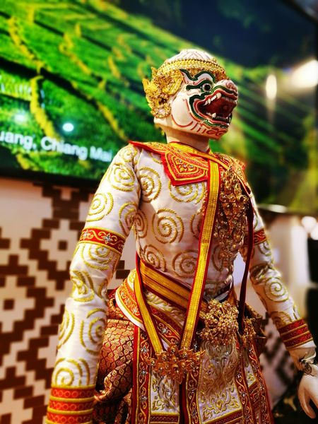 Puppets Hanuman Monkey Culture Show Entertainment Costumeplay Thainess