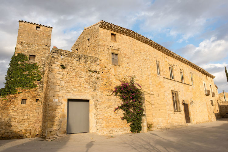 Catalonia Country Rural SPAIN Architecture Building Exterior Built Structure Day Girón History Medieval No People Old Outdoors Peratallada Sky
