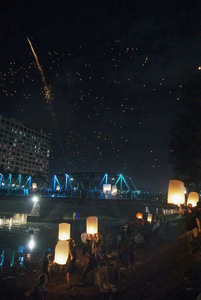 Loykrathong Yipeng_Lanna Thailand Chiangmai My Best Photo 2015