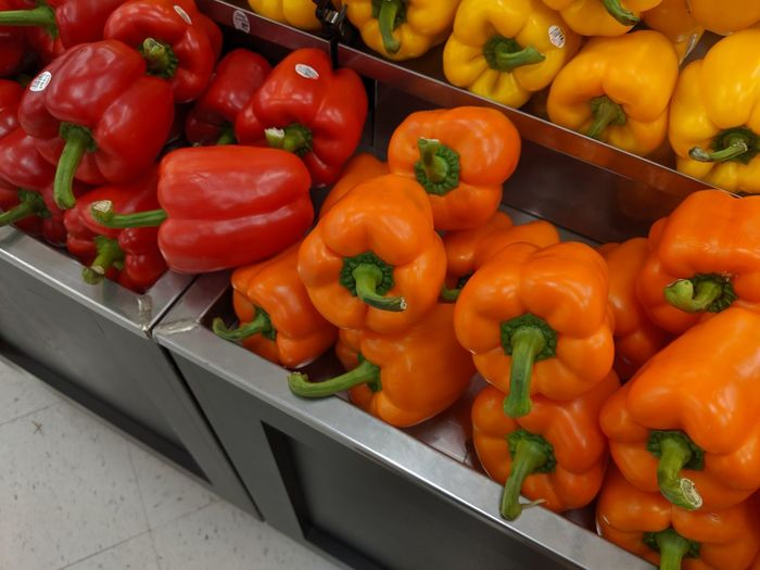 Lots of peppers