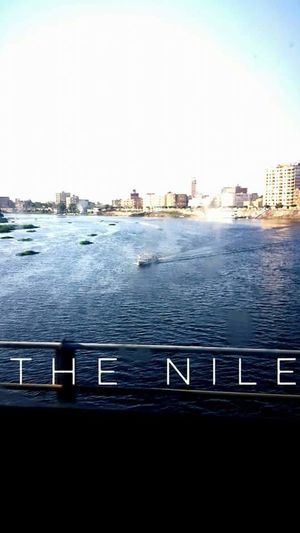 Nile River Water Nature Nile Boats Skylover Sky Day City Architecture Built Structure Outdoors First Eyeem Photo