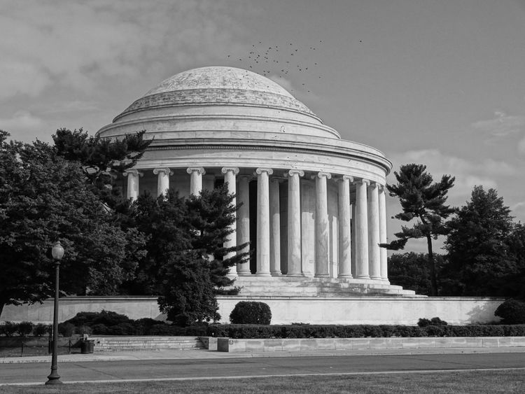 Architecture Blackandwhite Building Exterior Dome EyeEmNewHere History Jefferson Memorial No People The Architect - 2017 EyeEm Awards