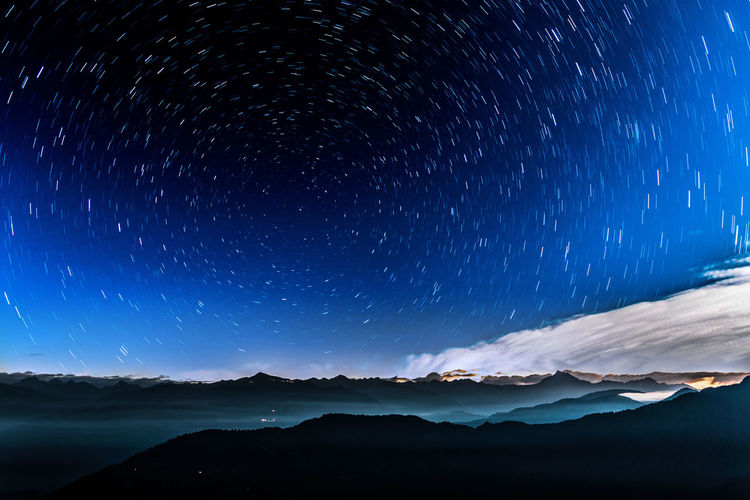 Star Astronomy Night Star - Space Space Milky Way Space And Astronomy Sky Mountains Nikon D5500 Nature Star Wars Galaxy Landscape Scenics Mountain Beauty In Nature Horizontal Outdoors No People Constellation Nature Star Field Star Trail Telescope Breathing Space The Week On EyeEm Lost In The Landscape Visual Creativity