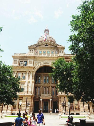 State Capital Texas Girl