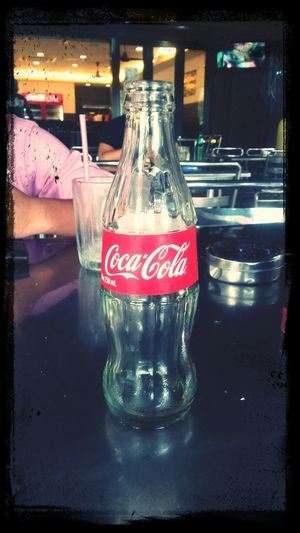 Rest for awhile.. Cocacola