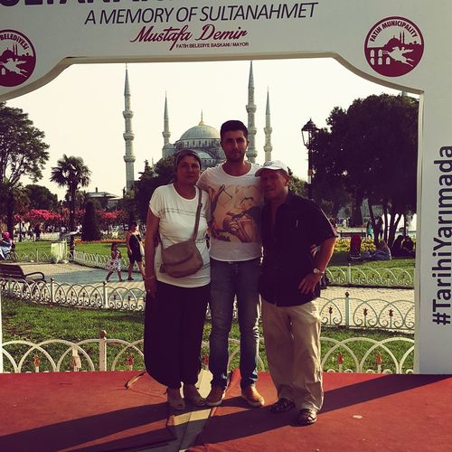 Sultan Ahmed Mosque Sultanahmetsquare Mylovefamily Halam(Anadan öte) & Eniştem(Babadan farksız)