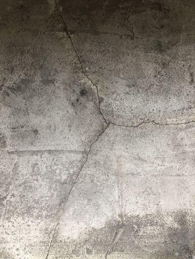 Full frame shot of cracked wall