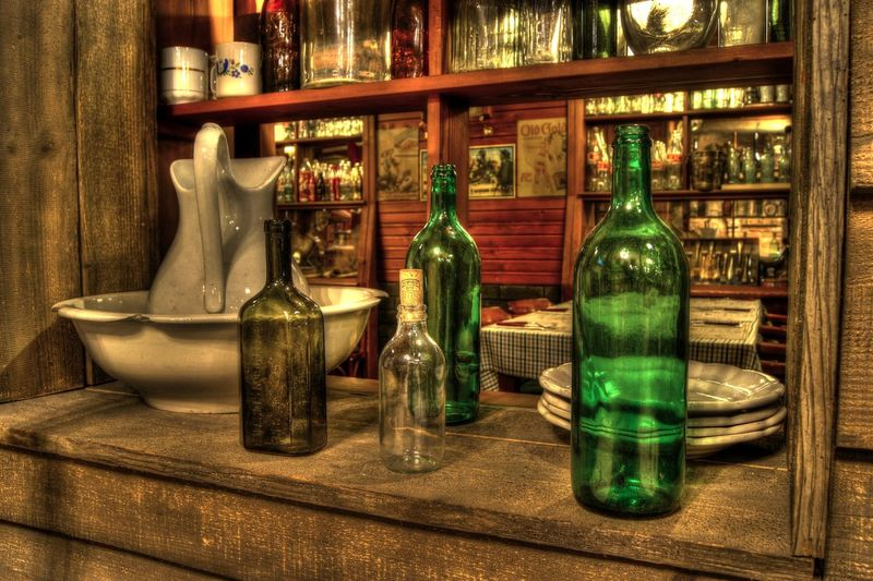 Bottle HDR Hdr_arts  Hdr_Collection Hdr_gallery Hdrphotography Indoors  No People Saloon Time