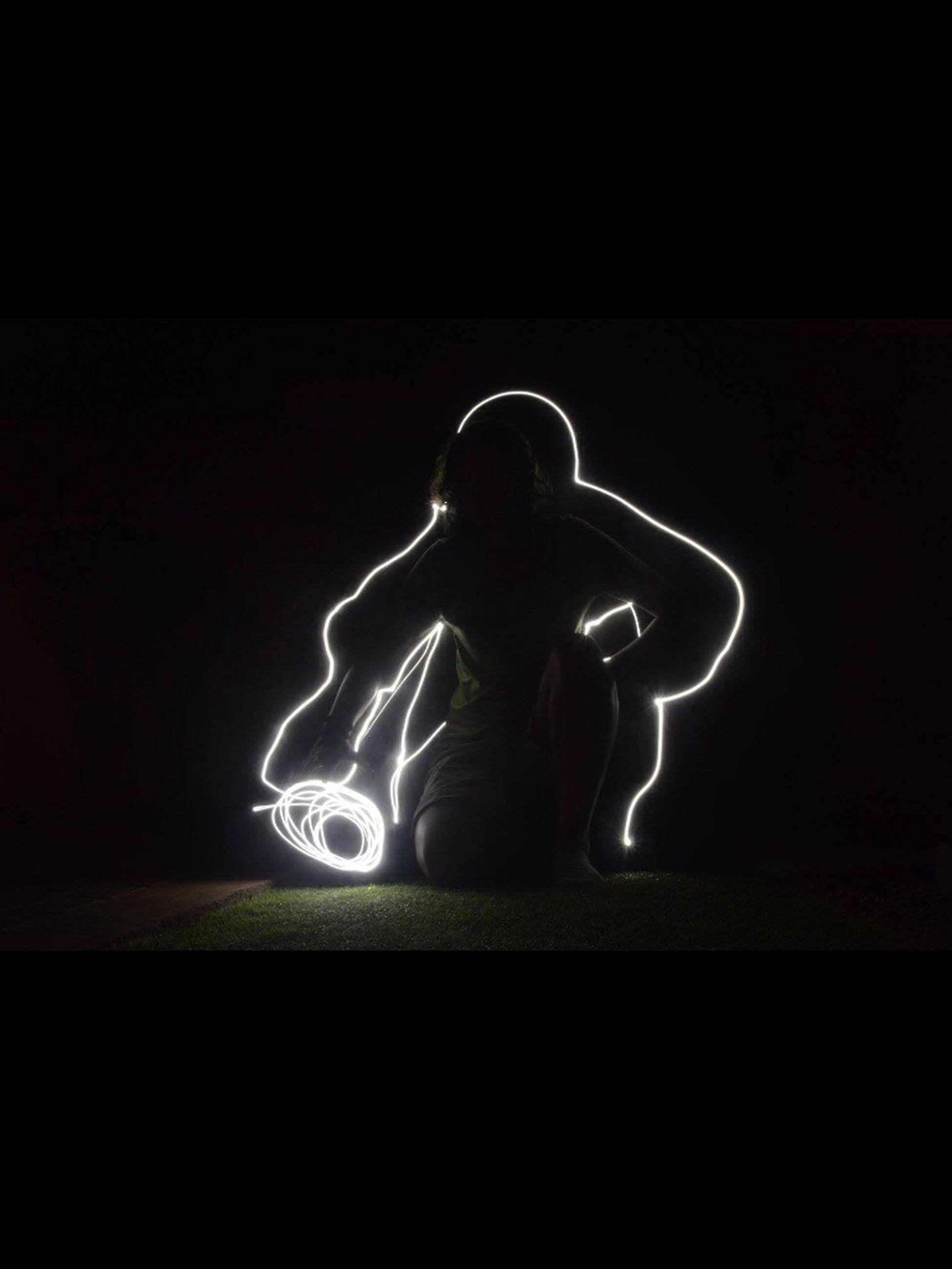illuminated, night, long exposure, light painting, creativity, performance, dark