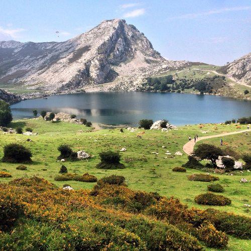 SPAIN ASTURIAS COVADONGA Lake Mountains EyeEm Nature Lover Eye4photography  IPhone5 EyeEm Best Shots EyeEmBestPics Eye Em Nature Lover