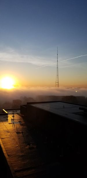 Sunrise Landscape Nature Beauty In Nature Outdoors Scenics Day Astronomy Morning Sky Foggy Morning Foggy Sunrise Cincinnati Ohio No People No Filter