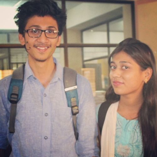 Post3 Autograph_wali_senior 😘 Lastcollegedaydairy Lastdaypicture luckyme awesomeU goodtimes pretty smilingfaces library missusomuch allthebest StayBlessed keepsmiling
