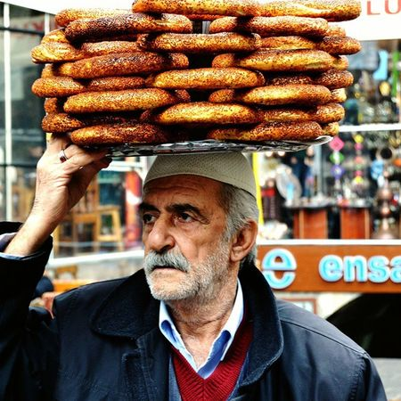 Hasanpaşahanı Amed Diyarbakır Human Portrait Simit Simitçi