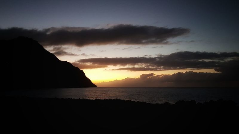 Dramatic Sky Sunset Night Silhouette Sea Landscape Beach Beauty In Nature No People Nature Mountain Outdoors Travel Destinations Sky Water Scenics Horizon Over Water Azores Azores, S. Miguel Azoren Azoresislands Azores Islands Portugal Portuguese Povoação