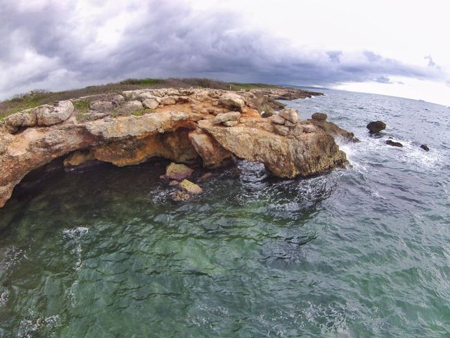 Rocky shoreline on the Carribean. Dji Rocky Shoreline Tropical Island Nature Water Rock - Object Sea No People Beauty In Nature Scenics Day Outdoors Beach