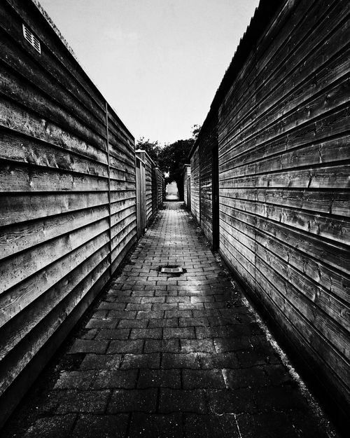the alley Monochrome Black And White Blackandwhite Bw_collection